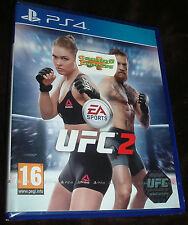 EA Sports UFC 2 Playstation 4 PS4 NEW SEALED