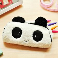Cute Soft Plush Panda Pencil Case Pen Pocket Cosmetic Makeup Storage Pouch Bag