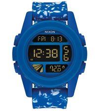 Nixon A1972303 Unit Cobalt Speckle Unisex Digital Watch