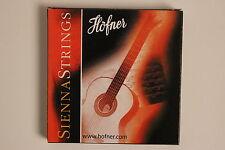 SAITENSATZ FÜR KONZERTGITARRE / Gitarre Höfner SIENNA Guitar STRINGS NEU