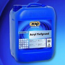 Zero Acryl Tiefgrund 1l Grundiermittel innen und außen Grundierung Tiefengrund