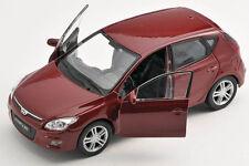 BLITZ VERSAND Hyundai i30 / i 30 weinrot 1:34 Welly Modell Auto NEU & OVP