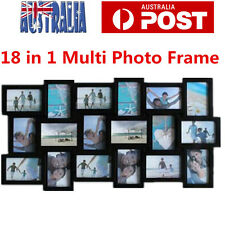 18 in1 Large Multi Photo Frame Picture Wall Decor Photo Frame Gift
