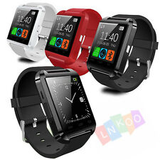 Bluetooth Smart Wrist Watch Phone Mate For Android&IOS Iphone Samsung LG Sony UK