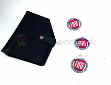 Fiat 500 Owners Manual, Service Schedule Stamp Blue&Me Book Pack + Wallet +NEW+