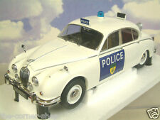 EXCELLENT 1/18 MODEL ICONS LEICESTERSHIRE & RUTLAND POLICE JAGUAR MK2 MKII 1965