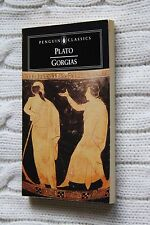 Gorgias by Plato (Paperback, 1971), Like new, free shipping
