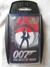 TOP TRUMPS 007 JAMES BOND BEST OF BOND LIMITED EDITION CARD GAME *NEW & SEALED*