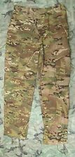 NEW GENUINE US ARMY MULTICAM FLAME RESISTANT COMBAT TROUSERS. MEDIUM-LONG. CRYE.