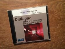 Dialogue  - Baroque - Minimal [CD Album] NEU  OEHMS Festival Strings Lucerne