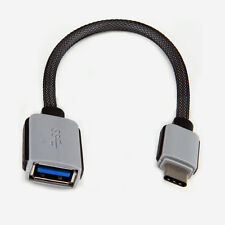 0.2M USB 3.0 Female to USB 3.1 Type C Male Data OTG Cable Sync Power for Macbook