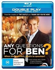 Any Questions For Ben? (Blu-ray, 2012, 2-Disc Set) BRAND NEW/SEALED