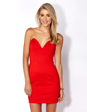 Supre Womens/Ladies Size L/14 Formal/Cocktail/After Party Dress - RED - BNWT