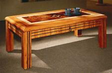 MDF Coffee Table Crafted Top solid made in pine colour with drawer Modern new