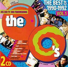 THE BEST OF 1990-1992 VOL. 1 / 2 CD-SET (EMI ELECTROLA GMBH 1993) - TOP-ZUSTAND