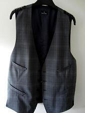 """Paul Smith Waistcoat PS Grey Check Waistcoat L Armpit to Armpit 20"""" RRP £195"""