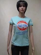Timezone Damen Shirt in Vintage Green Mel.  Neuware in Größe M