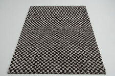 Quality Large Dark Brown Shag Pile Rug 120cm x 160cm 10mm Thick Rug Alhambra 70