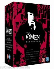 THE OMEN 1 2 3 4 5 COMPLETE HORROR FILMS ULTIMATE COLLECTION NEW 5 MOVIES 6 DVD