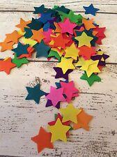 1000 x Tissue Paper Rainbow Star Confetti/Favors/Multi-Coloured