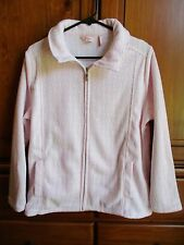 Millers Ladies Pretty Pink Fleece Jacket Size 12 Near New