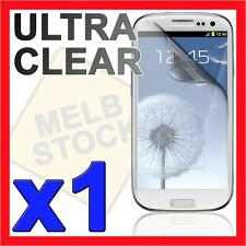 1x Ultra Clear LCD Screen Protector Film Guard for Samsung Galaxy S3 SIII i9300