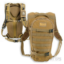 GEIGERRIG RIG 700 TACTICAL COYOTE 11 LITRE PACK HYDRATION WATER DRINK CYCLE