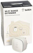 NEW Belkin N300 Universal Wi Fi Range Extender Wireless Signal Booster