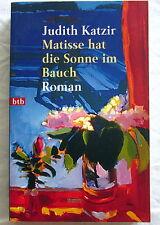 Buch (s) - MATISSE HAT DIE SONNE IM BAUCH - Judith Katzir Roman