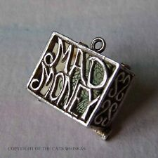 VINTAGE STERLING SILVER MAD MONEY ONE POUND NOTE CHARM