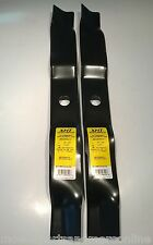 2 x Hardened 3in1 40 Inch Cut Deck Murray Lawn Mower Blade - 95103E701, 91871HT
