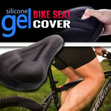 2016 New Silicone Thick Soft Gel Bike Bicycle Cycling Saddle Seat Cover Cushion