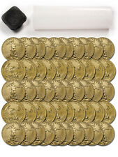Roll of 50 - 2016 1/10 Troy Oz Gold American Eagle $5 Coin SKU38293