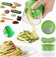 Slicer Spiralschneider Hand für Gemüsespaghetti kartoffel Schäler Gemüsestreifen