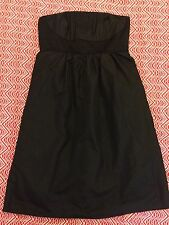 Katies Size 8 Womens Dress Black Ladies Evening Cocktail Strapless Boning