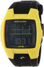 Rip Curl Mens TRESTLES OCEANSEARCH TIDE Watch Black/Yellow Brand New In Box