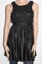 Hot Options Brand Black 3D Cut Out Sleeveless Evening Dress Size M BNWT #sM50