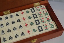 Chinese Mahjong Game Set in Wooden Box