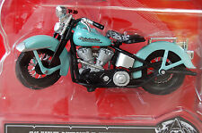 HARLEY DAVIDSON  FL  KNUCKLEHEAD   1/18th  MAISTO  MODEL  MOTORCYCLE