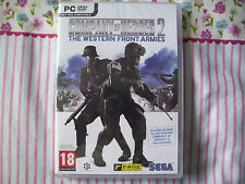 COMPANY OF HEROES 2 THE WESTERN FRONT ARMIES PC DVD NEW
