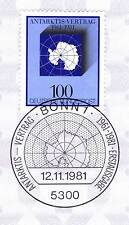 BRD 1981: Antarktis-Vertrag Nr. 1117 mit Bonner Ersttagssonderstempel! 1A! 156