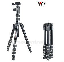professional Fancier Weifeng WF-861 ball head Screw folding camera Tripod + bag