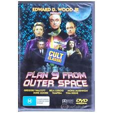 DVD PLAN 9 FROM OUTER SPACE Edward D Wood Jr 1959 Cult ALL PAL REGIONS [BNS]