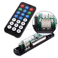 Car Digital LED Wireless 5V MP3 WMA Decoder Board Audio Module TF USB Radio FM