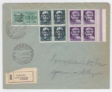 ITALY RSI TERAMO SCARCE WW II LOCALS ON COVER