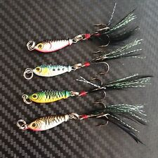 4X PFS Metal Slice Fishing Lures 6g Fish Lure Jigging Trolling Casting pelagics