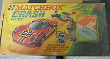 VWEY RARE MATCHBOX CRASH GAME WITH ORIGINAL CARS COMPLETE EXCEPT INSTRUCTIONS