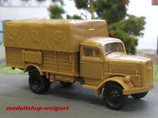 Herpa 740517 - Opel Blitz - Pritsche/Plane - Wehrmacht - Roco Minitanks 370