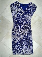 Coast - Wrap-front print dress