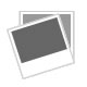 Crystal 18k white GF engagement style ring (F9)